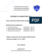 PRIMER INFORME DE LABORATORIO MAT - 1207