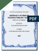 Tarea 1 Abordaje a Victimas de Violencia