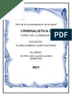 TAREA 1 CRIMINALISTICA-
