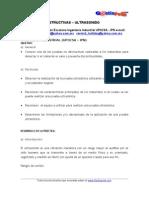 PRUEBAS NO DESTRUCTIVAS – ULTRASONIDO