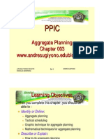 Aggregate Planning (PPC)