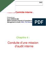 HEC. Conduite d`Une Mission d`Audit Interne