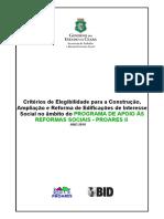 GUIA DE ORIENTAÇÃO DAS OBRAS