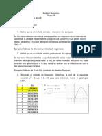 Serie 2 Analisis Numerico
