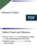 Influence Tactics