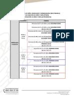 Vacunación de 30 a 39 años en Puebla capital