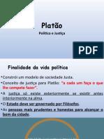 Platão - Política e Justiça