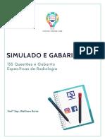 Simulado - Radiologia 135 Questões