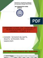 leccion 2  Presentación de Vocales y consonantes  N2°-Practica  N° 2 pptx