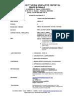 GUIA DE ACTIVIDADES No.2 Grado 9° 2020 P