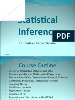 Module 1 Statistical Inference