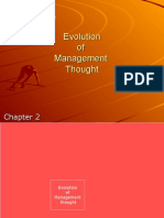 Chapter 2 - Evolution of Management Thought