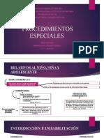 PROCEDIMIENTOS ESPECIALES IV