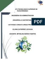 ACT.2 ENSAYO AREAS PROTEGIDAS