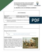 GRADO 9°- GUÍA No. 3 LITERATURA DEL DESCUBRIMIENTO, CONQUISTA Y COLONIA