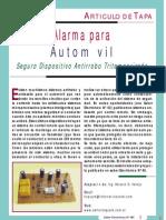 Electronica - Circuito Alarma (Auto)