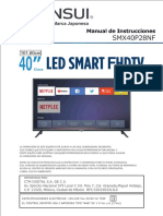 Smart Tv Sansui Smx40p28nf Dled Full Hd 40