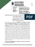 SOLICITO CONSENTIMIENTO Y REMISIÓN A JUZGADO DE ORIGEN DE INGRESO BOLETAS DE PAGO DE REMUNERACIONES maximo sangama
