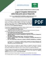 Proyecto Solidario-Convocatoria Congreso AACID Malaga 30 Marzo 2011 - Vf