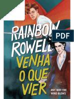 Venha o Que Vier (Simon Snow) - Rainbow Rowell