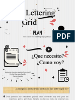 Lettering Grid MK Plan by Slidesgo