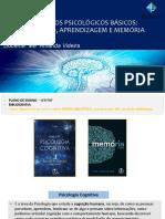 PROCESSOS PSICOLÓGICOS BÁSICOS - apresentação da disciplina