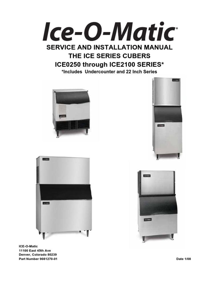 ice o matic ice0500 manual