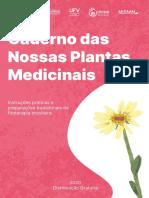 Carolina Weber Kffuri - Caderno das nossas plantas medicinais
