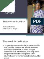 Maternal Death Review Indicators Analysis