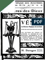 Piobb Pierre - Bibliothèque des mystères Les Mystères des Dieux Vénus