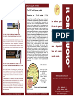 Volantino mailing Febbraio 2009