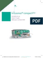 Manual Usuário Infusomat Compact Plus