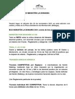 Reglamento General Ecopruebas La Donaira