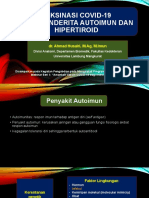 Vaksin pada Autoimun & Hipertiroid