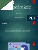 Vaksin DM & obes