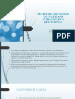 Protocolo de manejo de Colestasis intrahepática Gestacional 2021