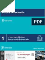 10 diez hitos de gestión Axel Kicillof Elecciones 2021