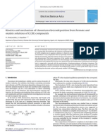 4.Kinetics and mechanism of chromium electrodeposition from formate and_Cr3