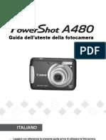 PowerShot A480 Guida dell'utente