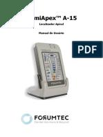 Manual Localizador Apical Romiapex a 15 0221 Convertido