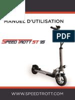 Notice Instruction SPEEDTROTT ST16
