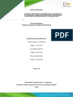 Fase 3 - Desarrollo de la problemática y consolidación del proyecto