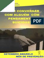 Como Conversar Com Alguém Com Pensamentos Suicidas