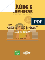 Cartilha Série Saúde e Bem-Estar no Ambiente de Trabalho - Síndrome de Burnout.Vol.05 (1)