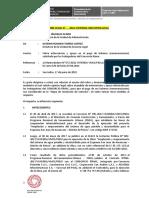 Informe Legal solicitud de pago de trabajadores CONSORCIO RIMAC