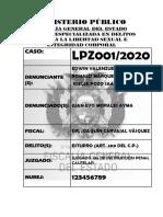 FISCALÍA 3A Documentos Audiencia de medidas cautelares PDF