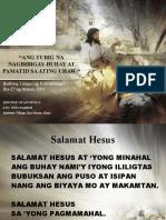 Mass Slide Lent 3rd Sunday 03-27-11 T
