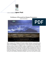 Islamic Economicsof Research in Islamic Economics