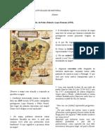 Análise Mapa Histórico - Produção Escrita Em Grupo