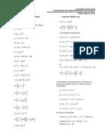 Lista Pre calculo prod notaveis fatora__ao racionaliza__ao eq 2 grau 2013 2